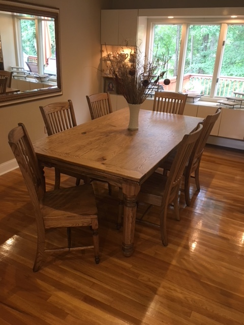 New York Ny Custom Built Bedford Refractory Table With Cameron Legs And Chairs From
